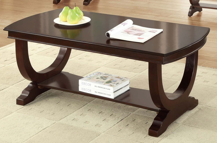 702818 Coffee Table - Cappuccino
