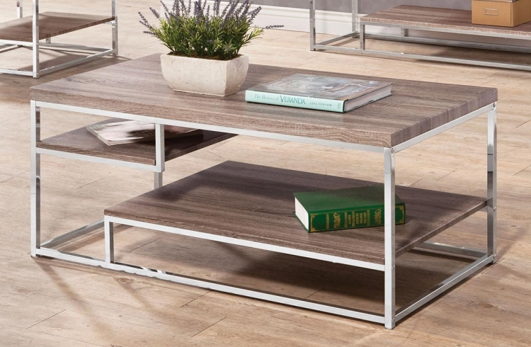 702838 Coffee Table - Reclaimed Wood