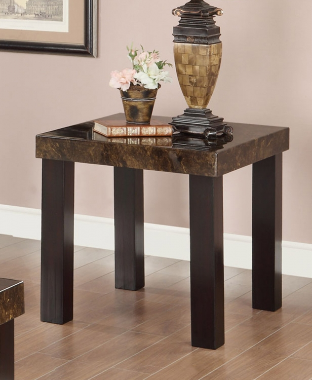 702857 End Table - Cappuccino