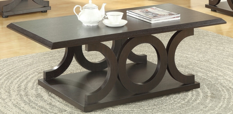 703148 Coffee Table - Cappuccino
