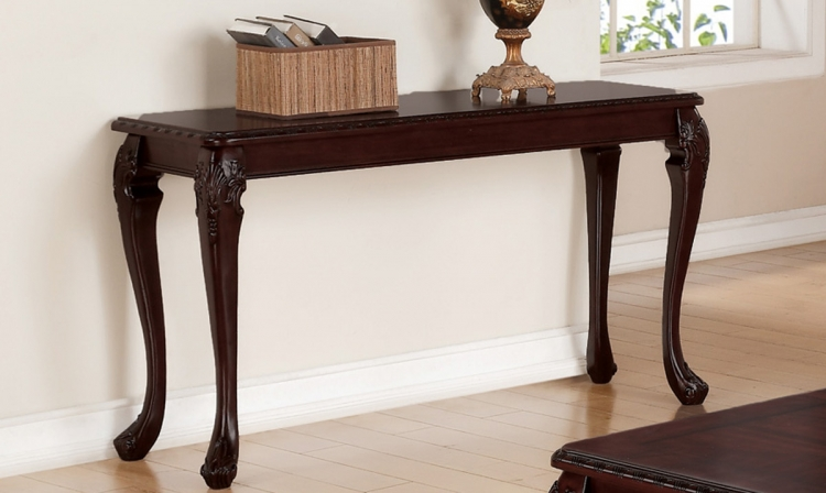 703409 Sofa Table - Cappuccino
