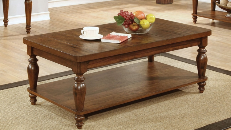 703578 Coffee Table - Rustic Brown