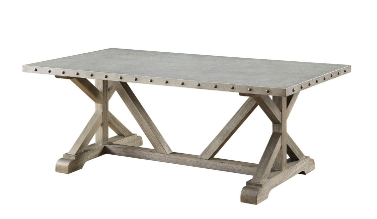 703748 Coffee/Cocktail Table - Driftwood
