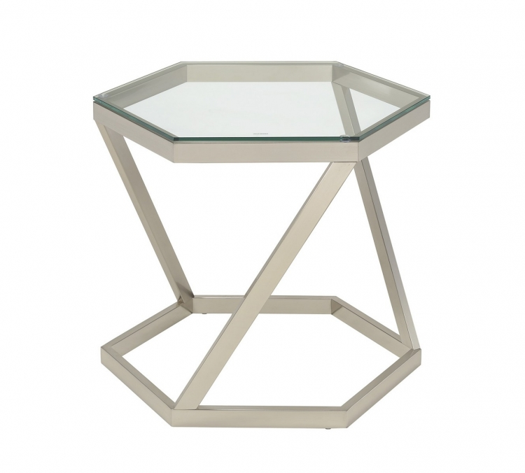 704007 End Table - Nickel