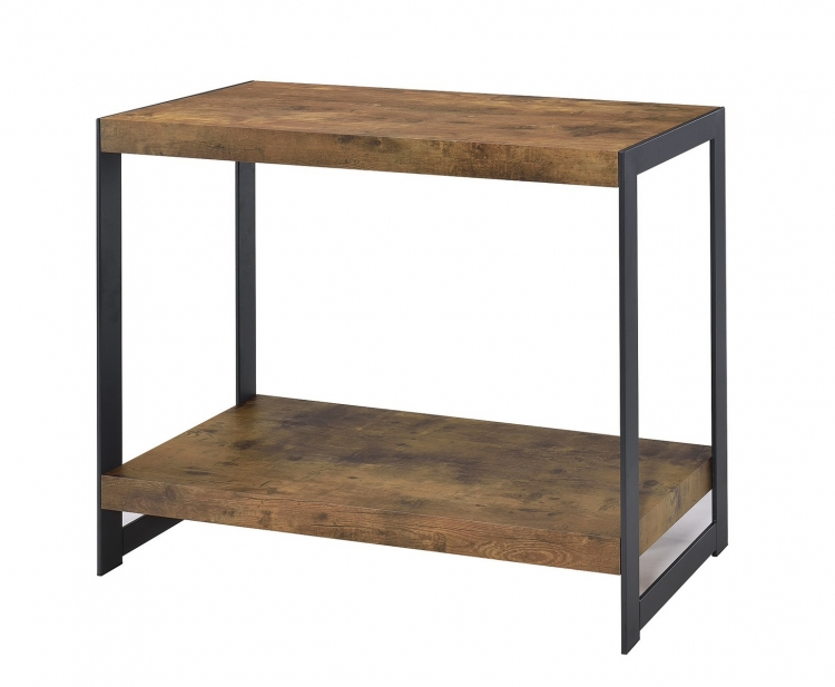 704029 Sofa Table - Antique Nutmeg/gunmetal