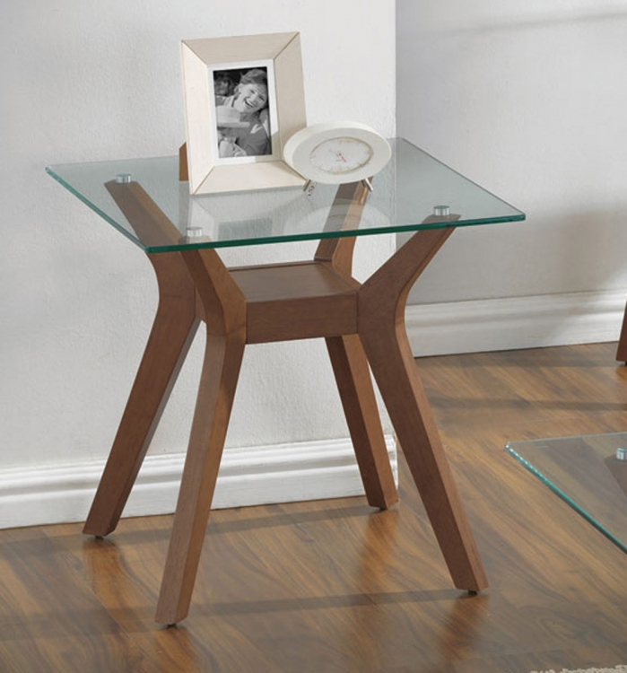 704167 End Table - Nutmeg