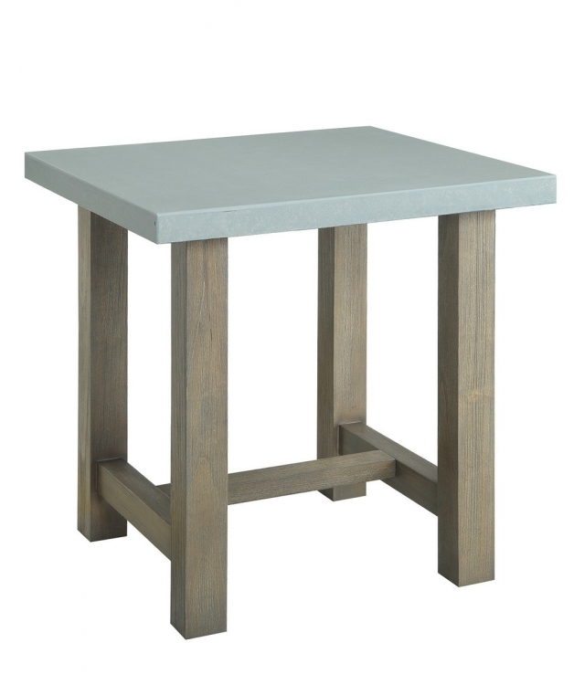 704247 End Table - Driftwood