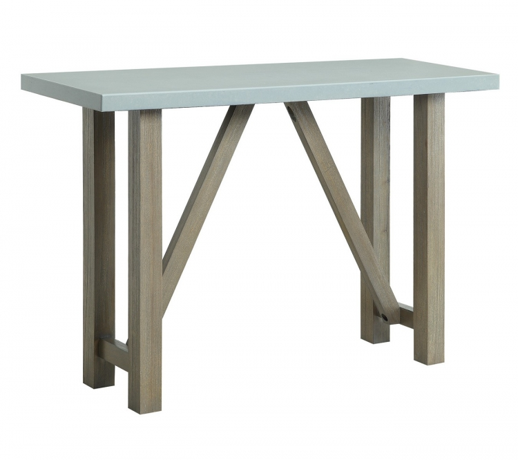 704249 Sofa Table - Driftwood