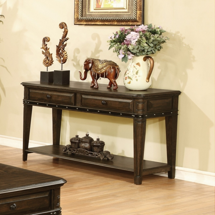704259 Sofa Table - Dull Black
