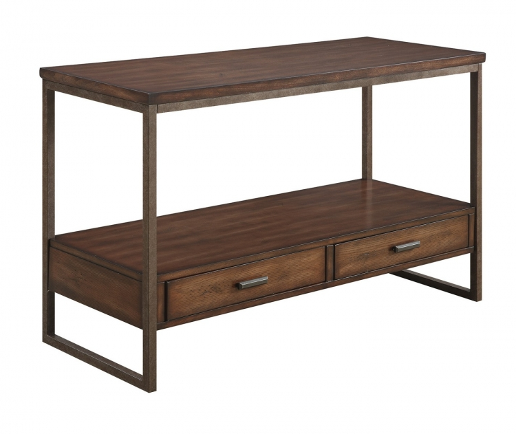 704309 Sofa Table - Light Brown