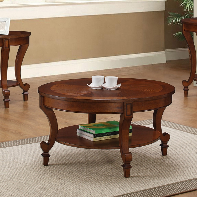 704408 Coffee/Cocktail Table - Warm Brown