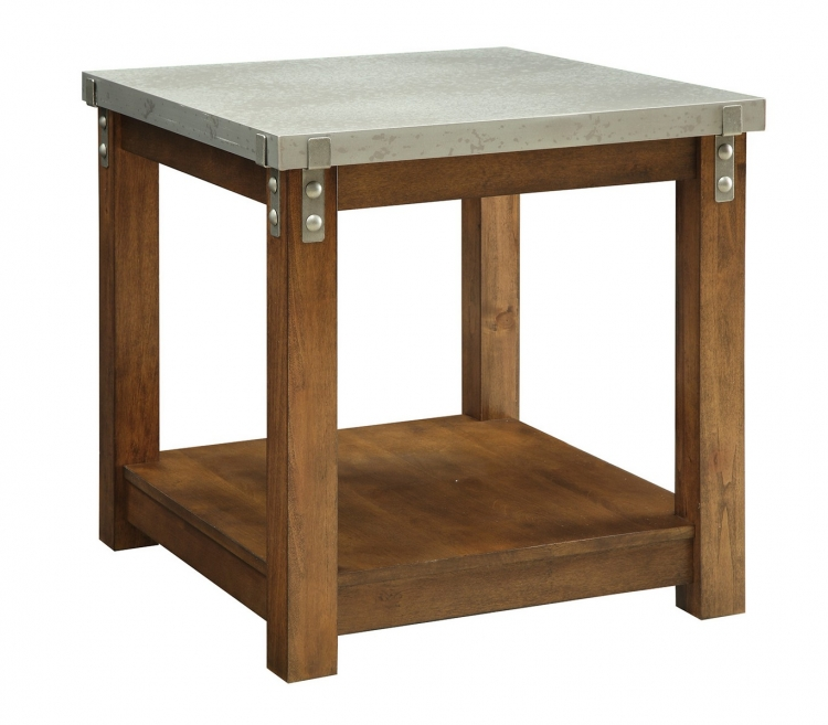 704547 End Table - Amber