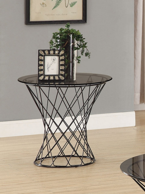 705137 End Table - Black