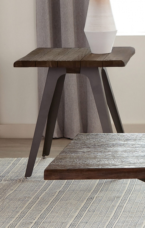 Emmett End Table - Brown/Espresso