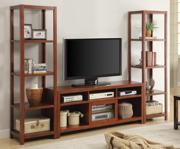 720131 Entertainment Wall Unit - Cinnamon