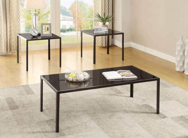 720457 Occasional/Coffee Table Set - Antique Pewter