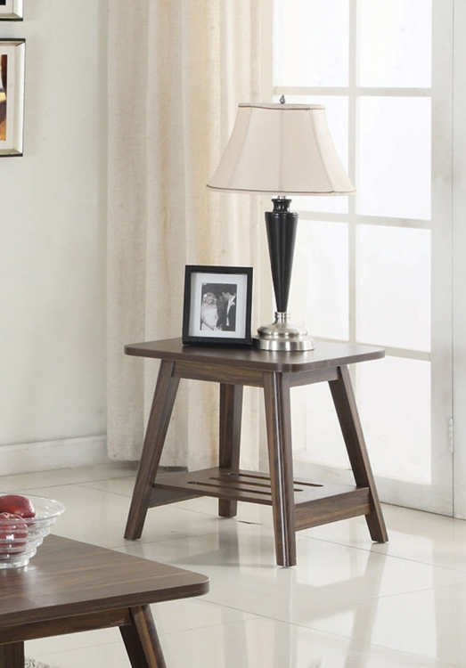 720557 End Table - Chestnut