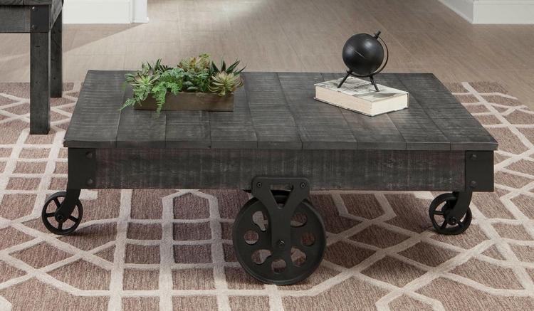 720578 Coffee Table - Rustic Grey