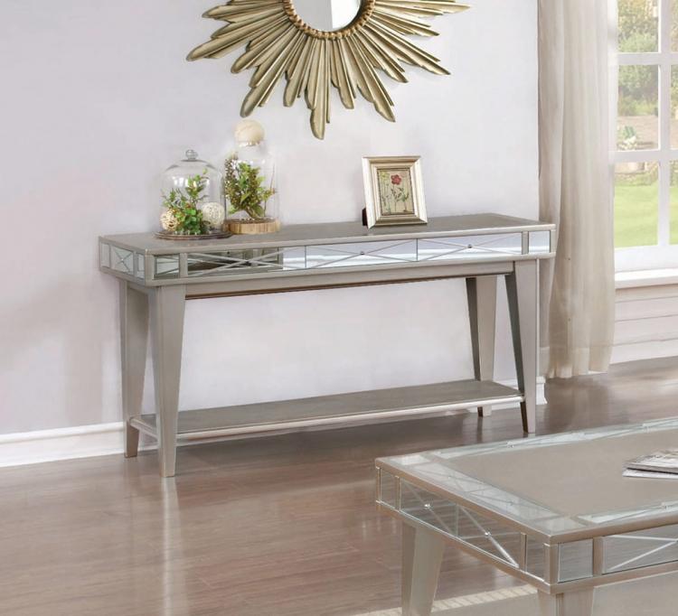 720889 Sofa Table - Mercury