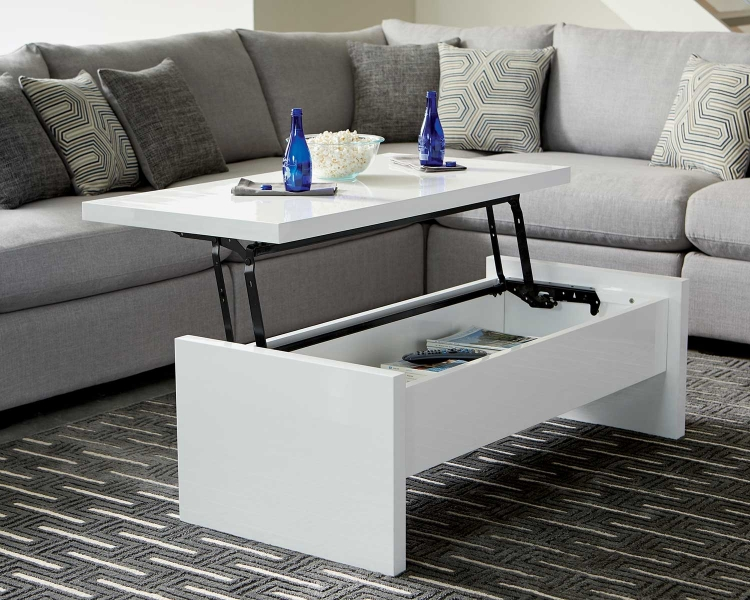 Charlotte Coffee Table - White