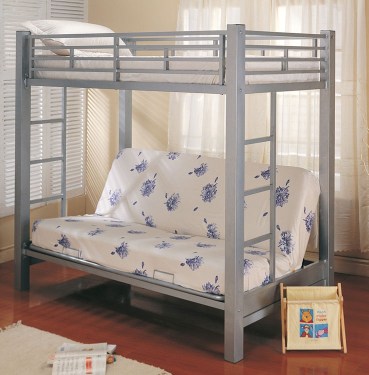 7399 Twin-Futon Bunk Bed - Coaster