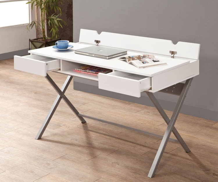 800118 Connect-IT Desk - White