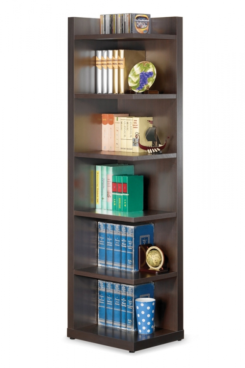 800270 Corner Bookcase - Coaster