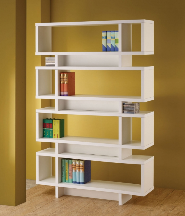 800308 Bookcase - White