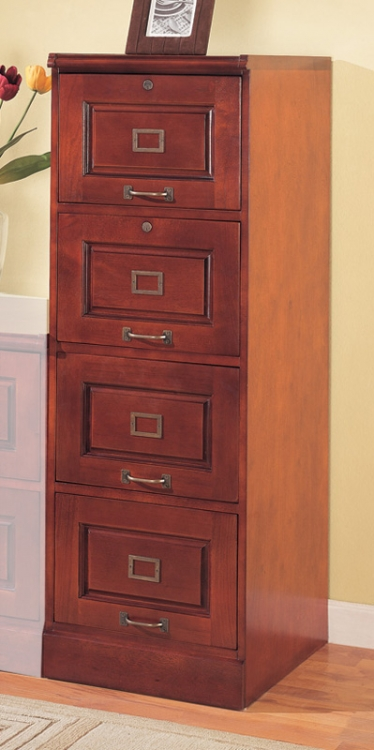800314 Four Drawer File Cabinet - Coaster