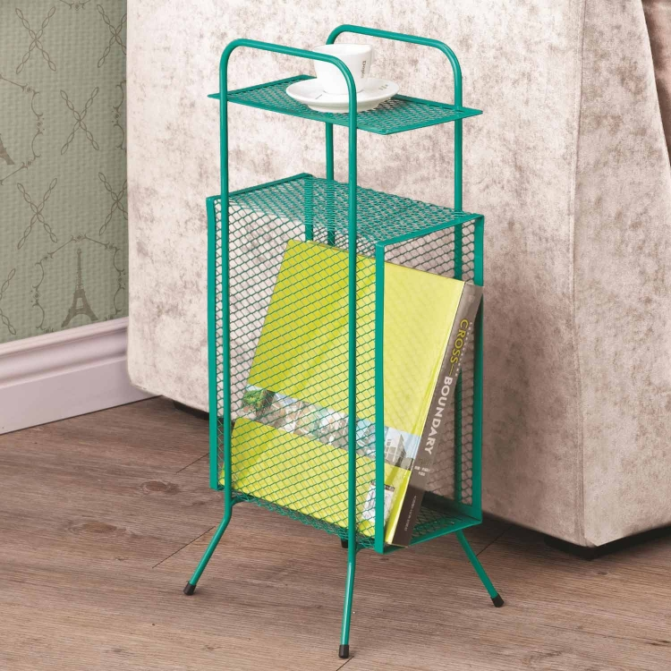 800387 Storage Table - Teal