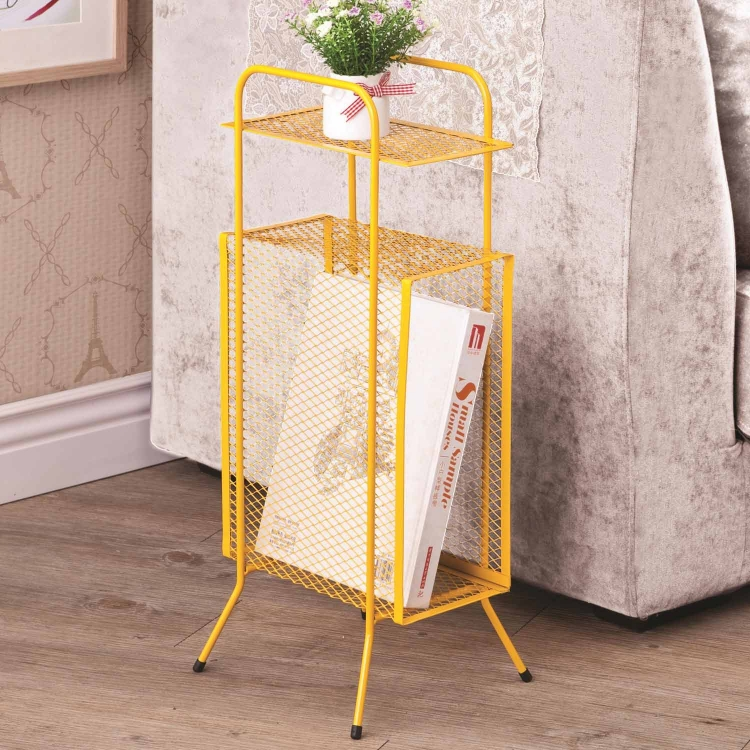 800389 Storage Table - Yellow