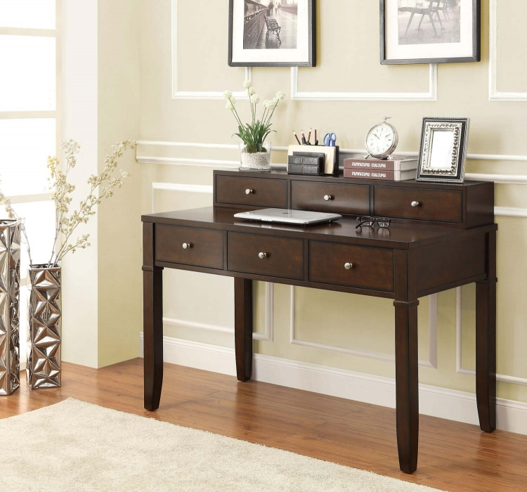 800400 Writing Desk - Walnut Brown