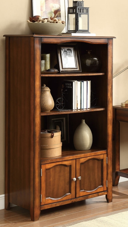 Jacqueline Bookshelf - Walnut