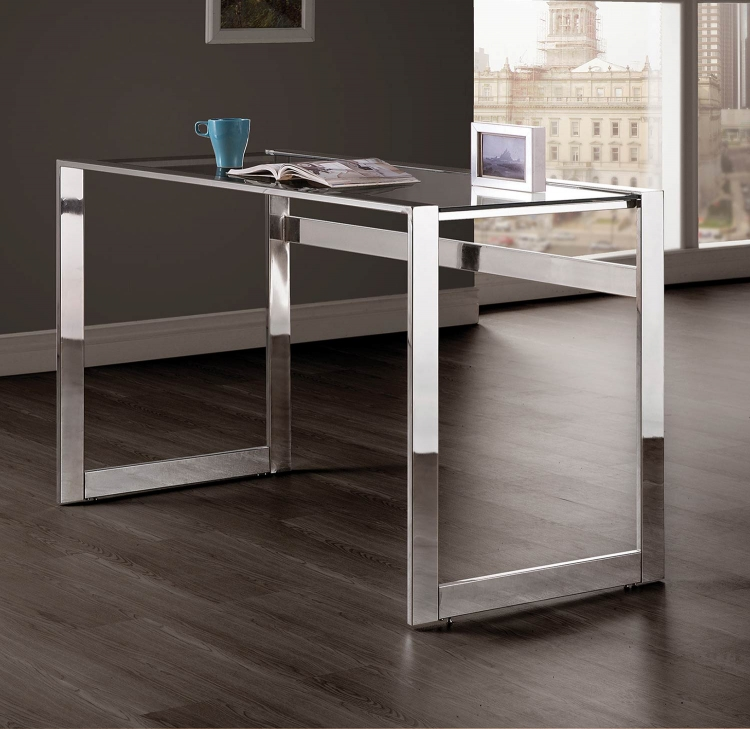 800746 Writing Desk - Chrome