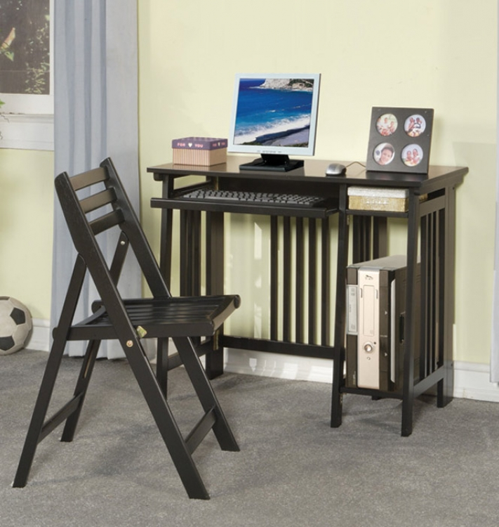 800775 2pc Desk Set - Coaster