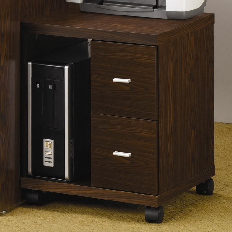 2 Drawer Computer Stand