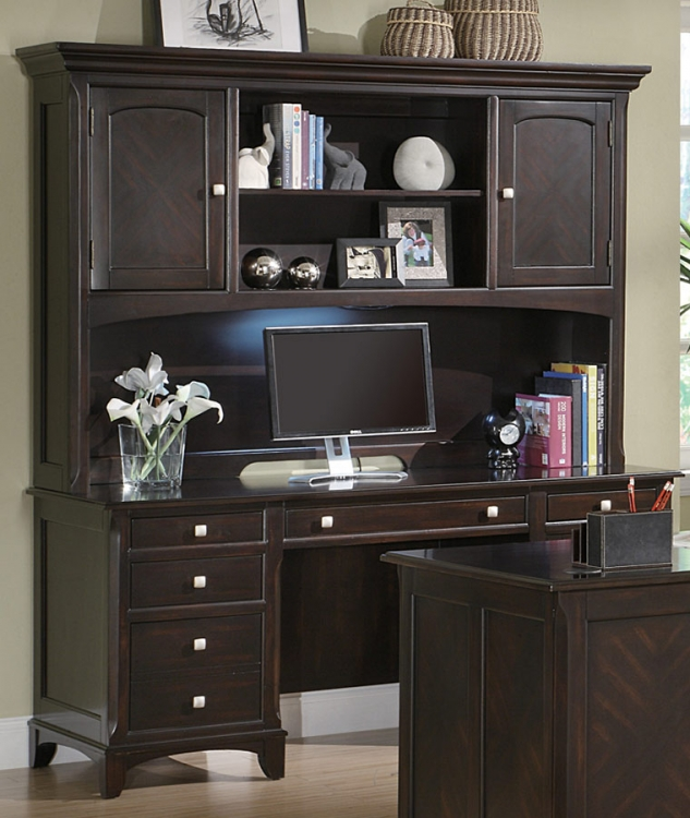 Garson Credenza and Hutch - Coaster