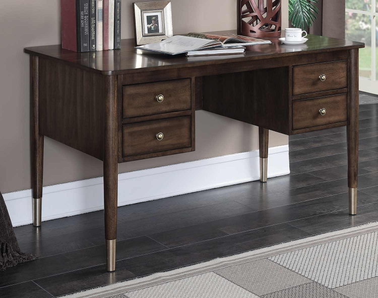 801122 Writing Desk - Burnished Amber