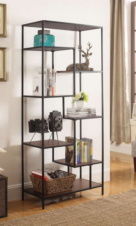801134 Bookcase - Walnut