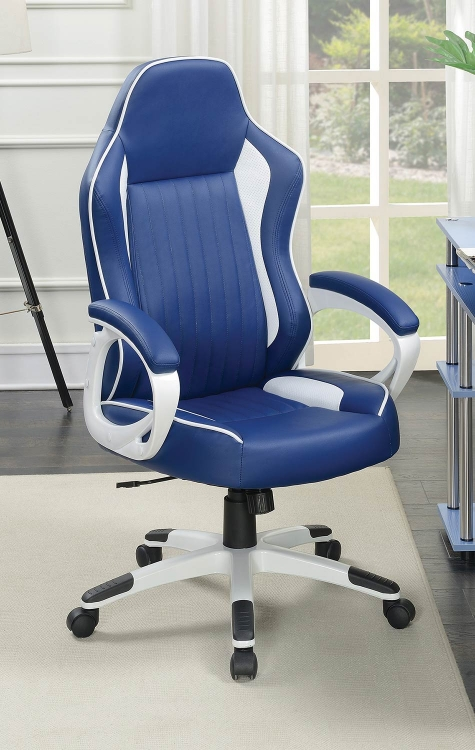 801475 Office Chair - Blue/White