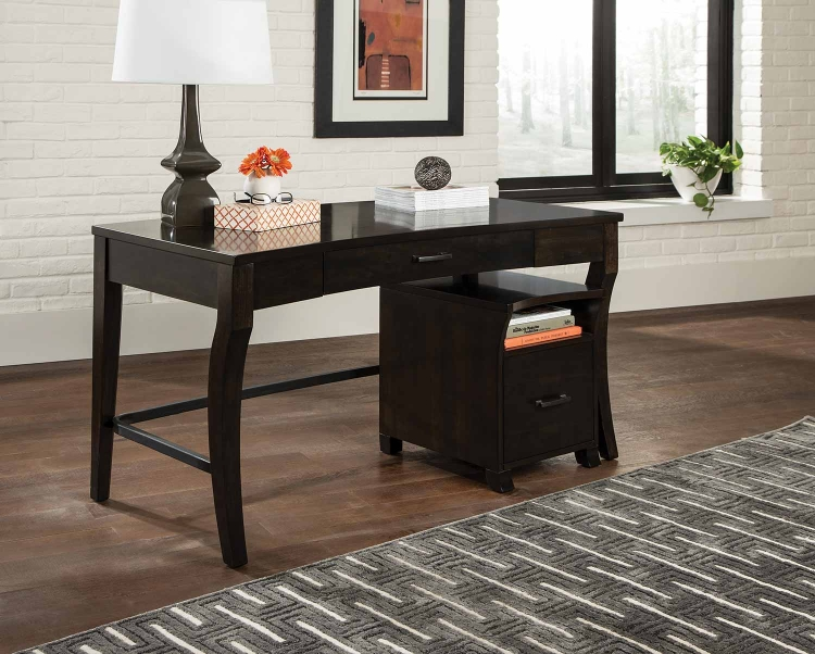 801751 Desk Set - Smoke Black