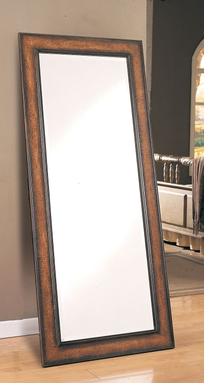8575 Floor Mirror - Antique Brown