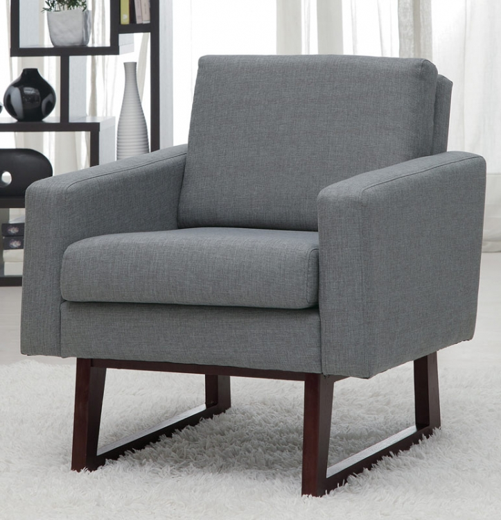 90017X Accent Chair - Grey
