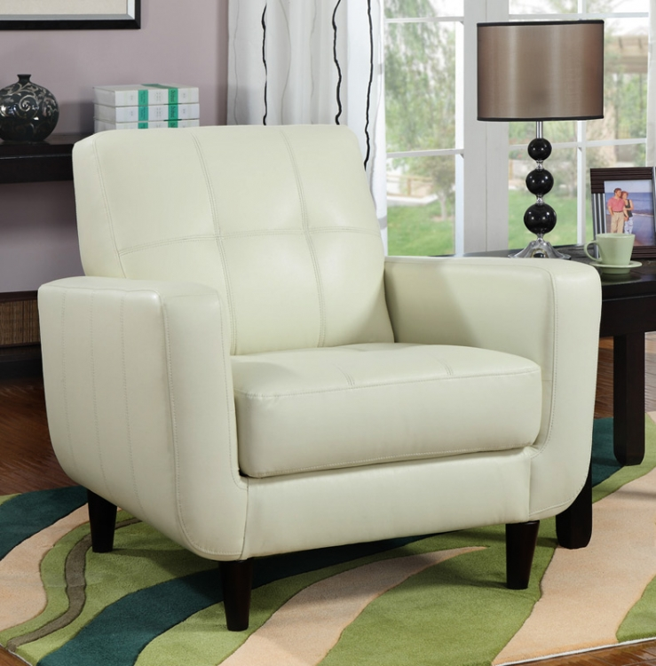 90020X Accent Chair - Cream - Coaster