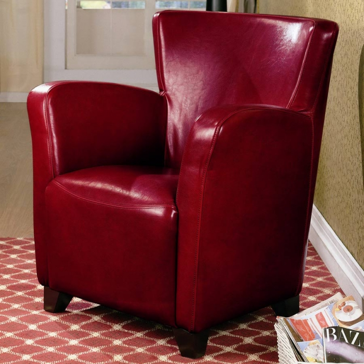 900235 Vinyl Chair - Red