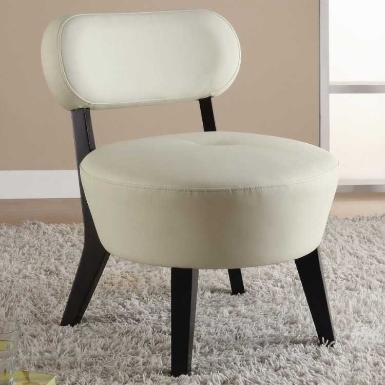 900296 Accent Chair - Soft White - Coaster