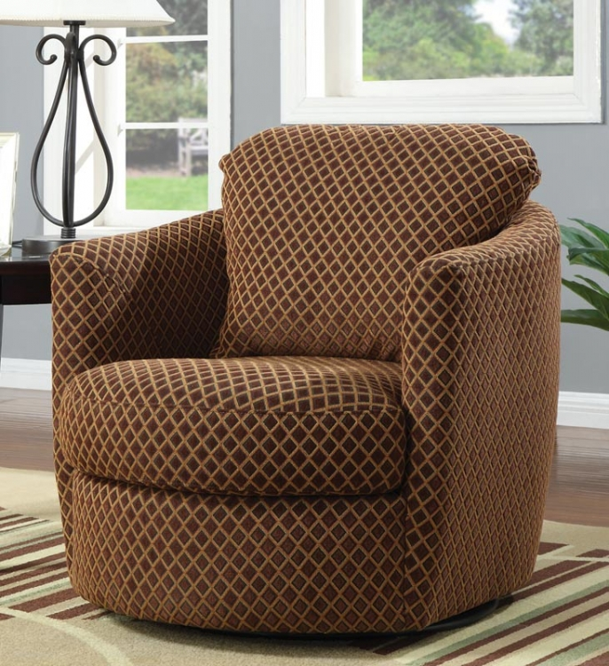 90040X Swivel Chair - Diamond - Coaster