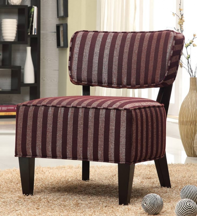 90042X Accent Chair - Burgundy - Coaster