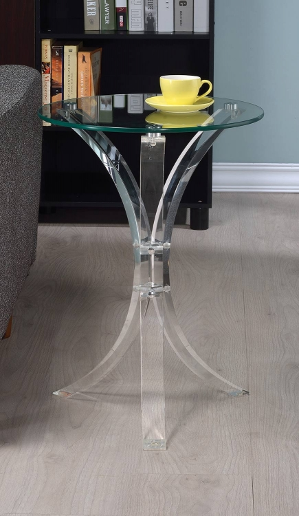 900490 Accent Table - Clear