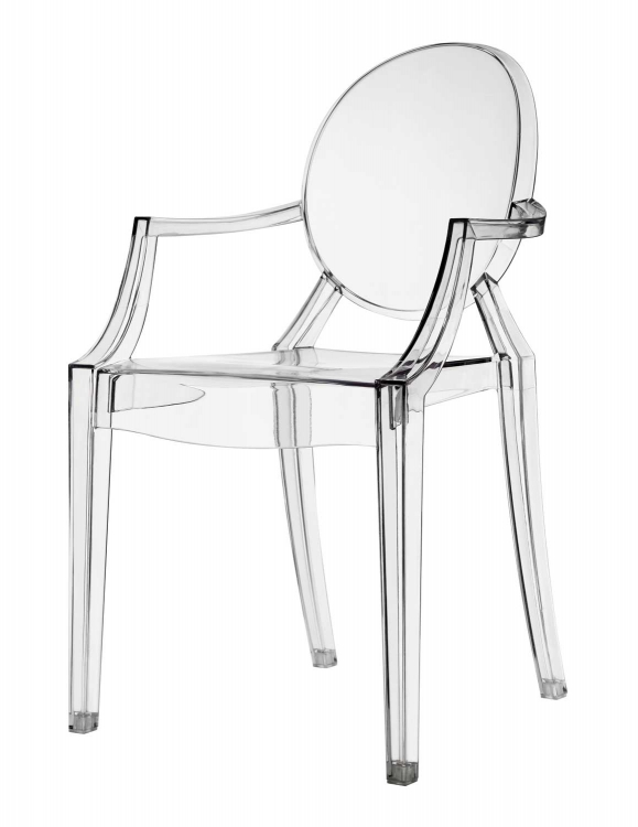 Eldridge Crystal Chair - Clear
